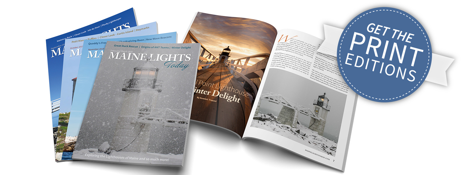 Maine Lights Today Print Editions