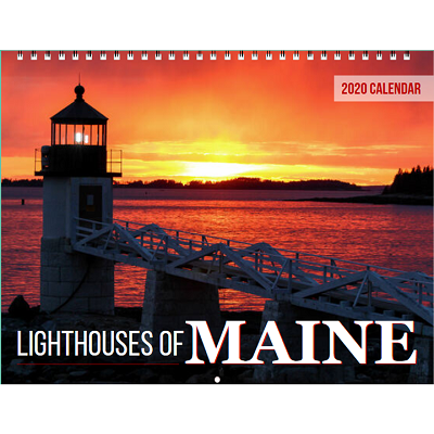 2020 Maine Lighthouse Calendar